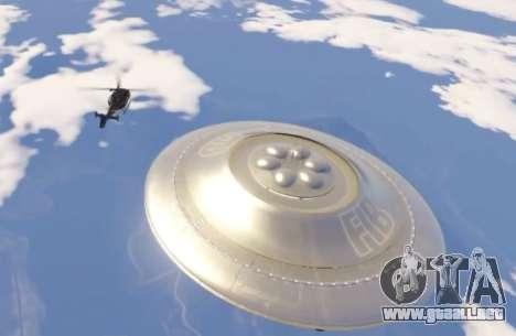 GTA 5 platillo Volador (OVNI) Costas de Arena