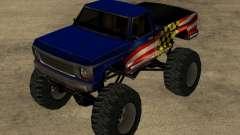 el Código de Monster GTA San Andreas