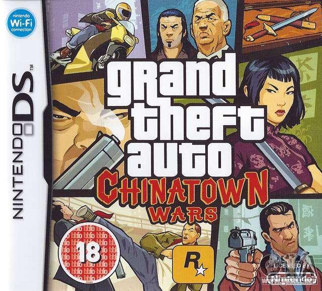 5 años desde la fecha de na de lanzamiento de GTA CW para la Nintendo DS