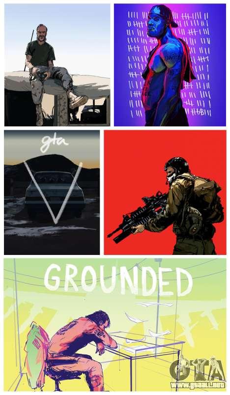Actualización de fan-art de GTA 5