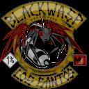 Black Wasp con el logo