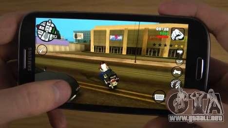 GTA San Andreas en el teléfono