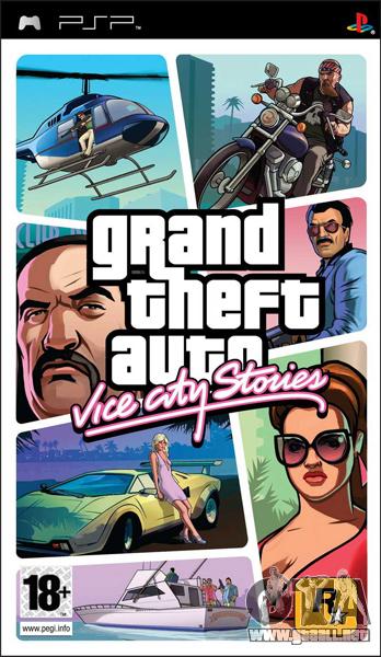 GTA VCS en Japón: PSP-puerto