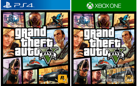 GTA 5 está disponible en PS 4 y Xbox One