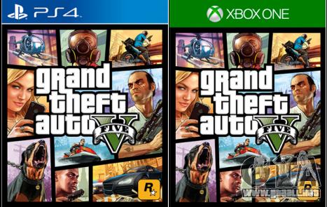 GTA 5 está disponible en PS 4 y Xbox One