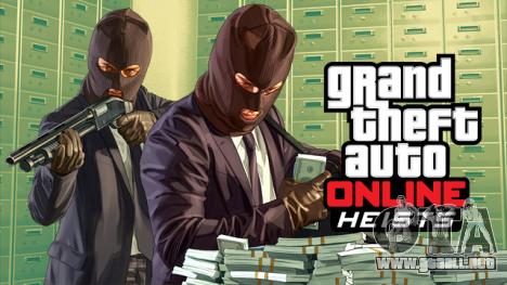 ¡el parche GTA Online Robos