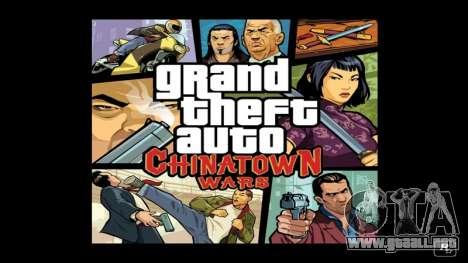 el Lanzamiento de GTA CW para NDS en australia