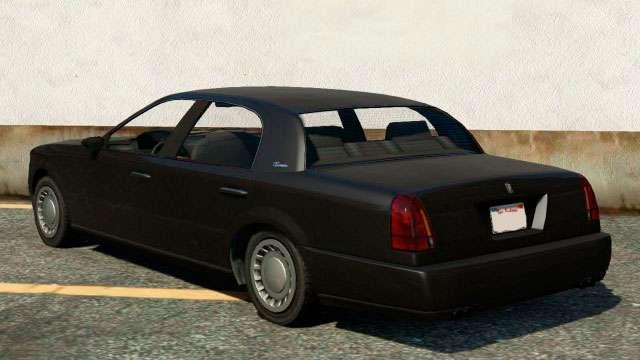 Albany Washington de GTA 5 - vista desde atrás