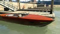 Pegassi Speeder de GTA 5 - vista frontal