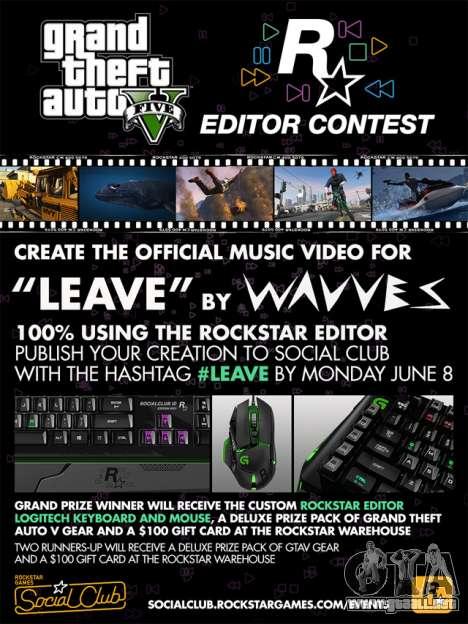 el Concurso de Rockstar Editor: clip de Wavves