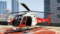 Buckingham Police Maverick (emergency) de GTA 5 - vista frontal