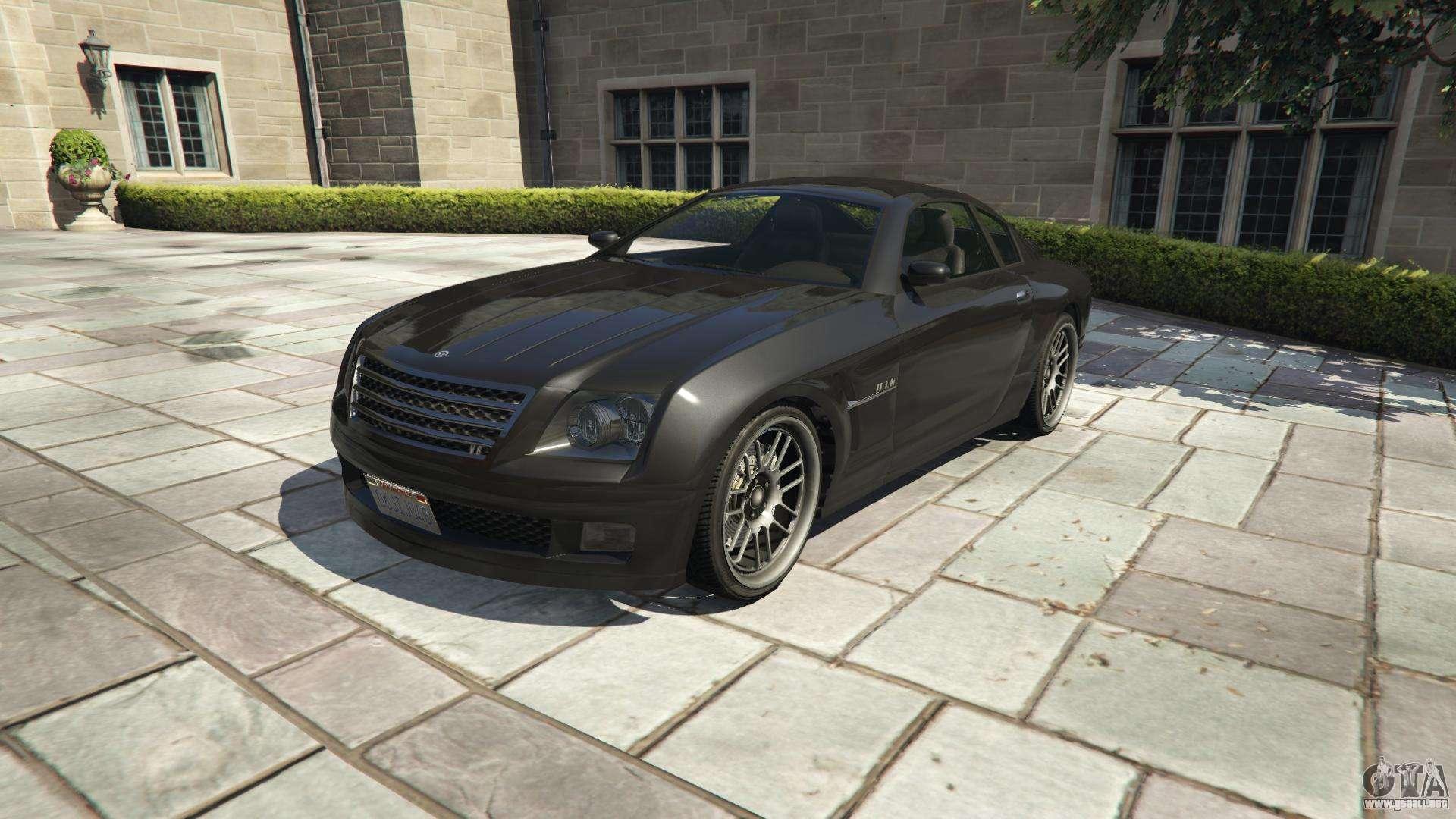 Picapleitos Fusilade de GTA 5 - vista frontal