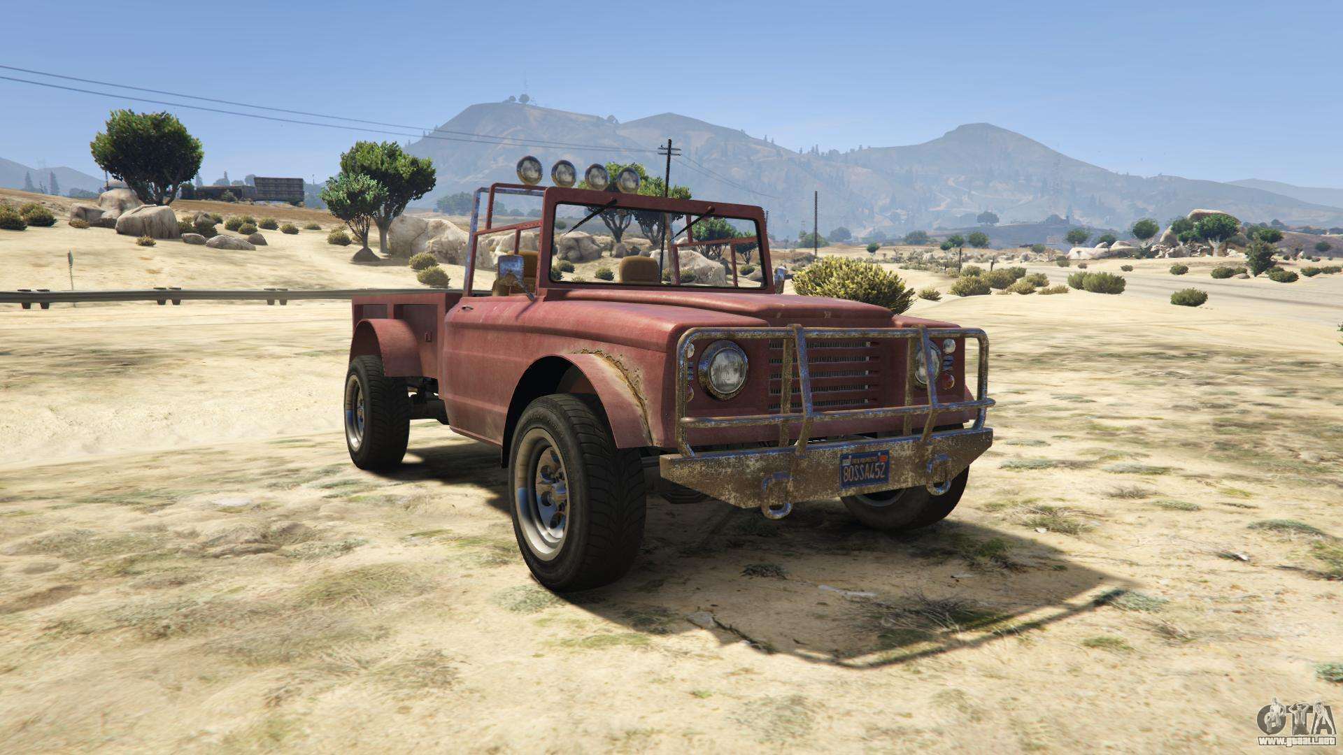 GTA 5 Canis Bodhi - vista frontal