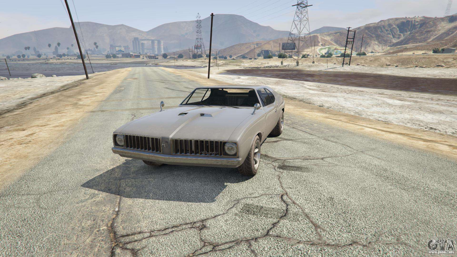 Stallion de GTA 5 - vista frontal