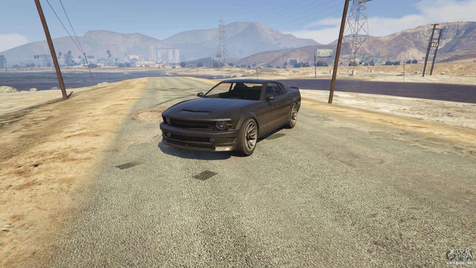 Dominator GTA 5 - vista frontal