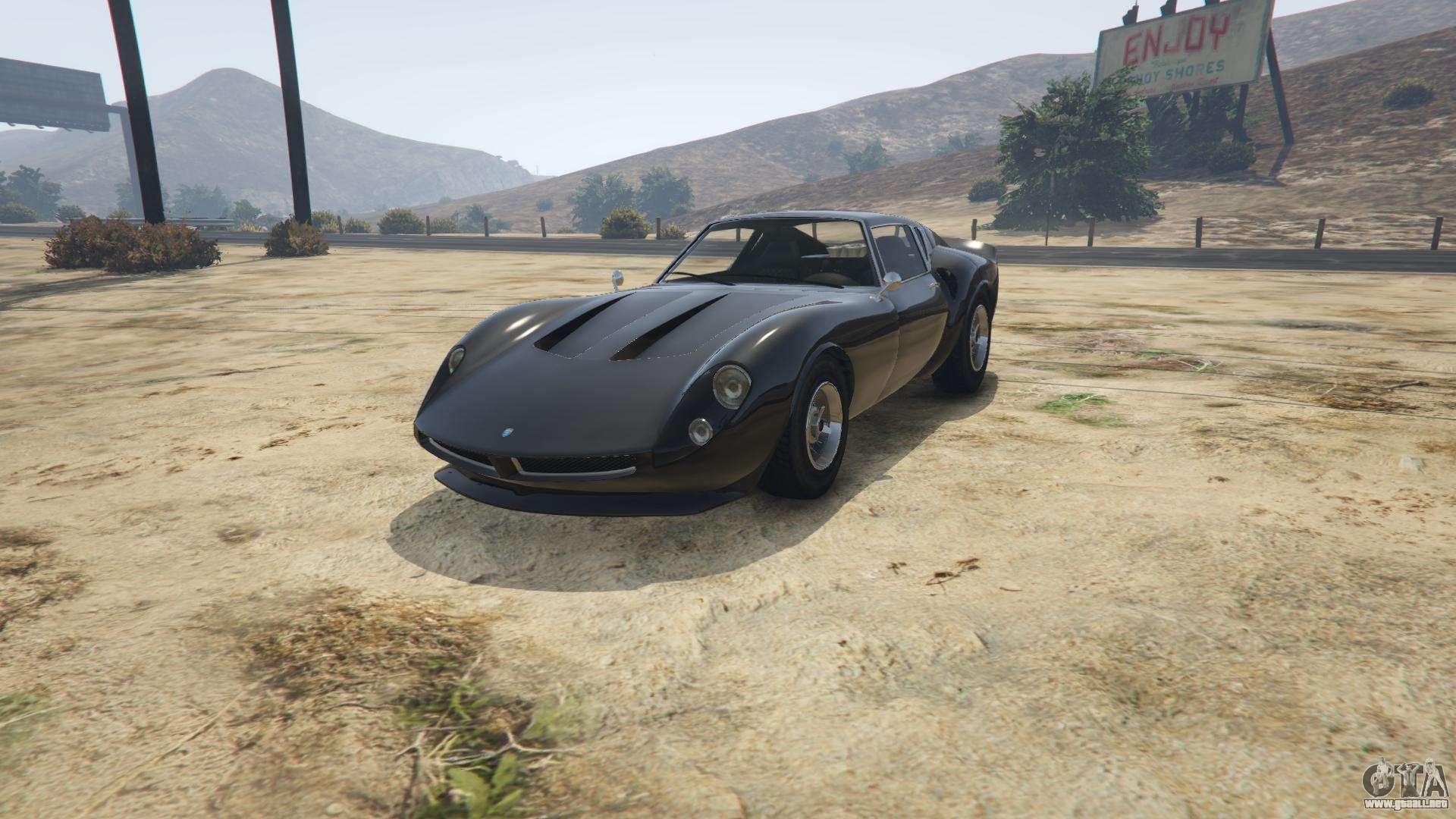 Grotti Stinger GT GTA 5 - vista frontal