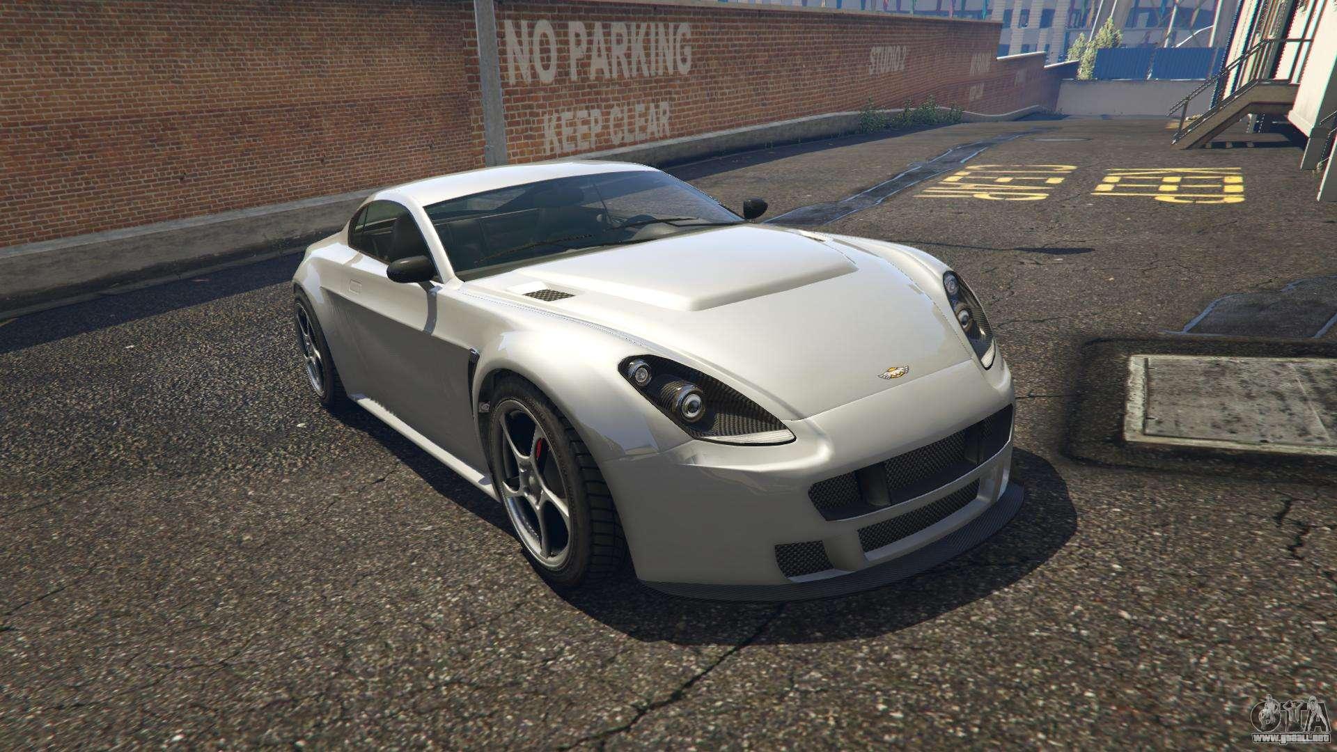 Dewbauchee Rapid GT GTA 5 - vista frontal