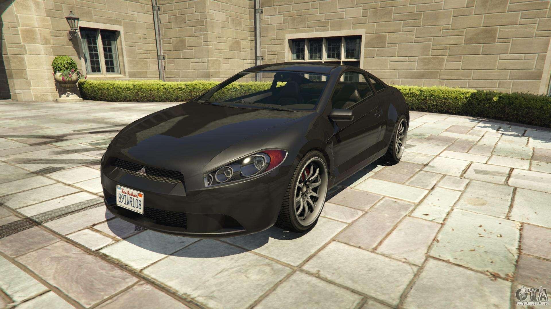 Maibatsu Penumbra GTA 5 - vista frontal