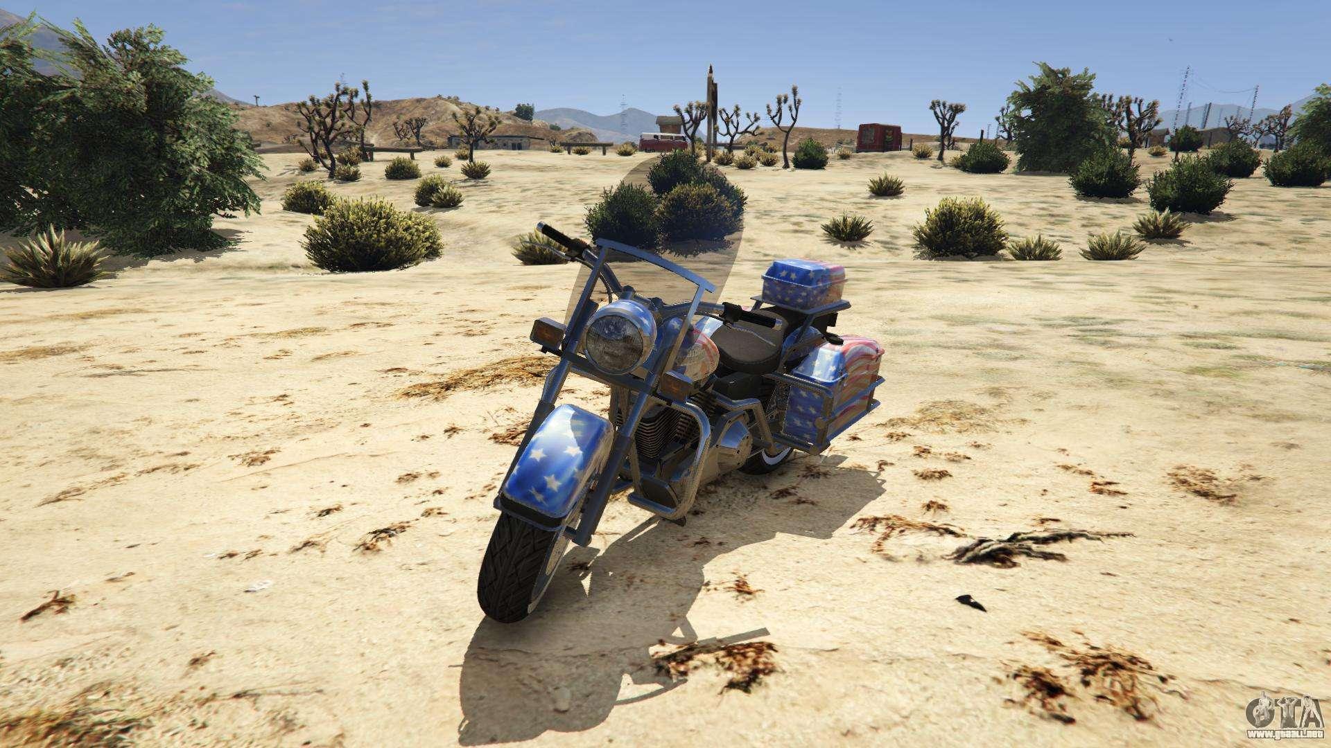 Western Motorcycle Company Sovereign de GTA 5