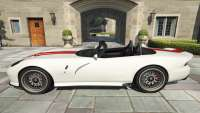 Bravado Banshee Topless de GTA 5 - vista lateral