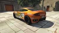 Dewbauchee Massacro Racecar de GTA 5 - vista posterior