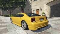 Bravado Buffalo GTA 5 - vista posterior