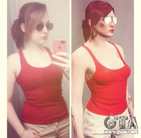 selfie GTA Online