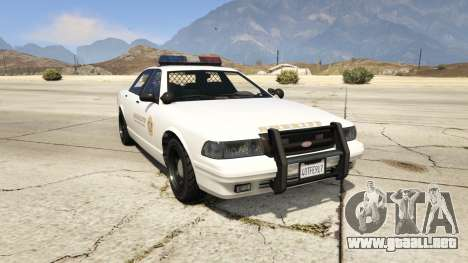 Vapid Sheriff Cruiser