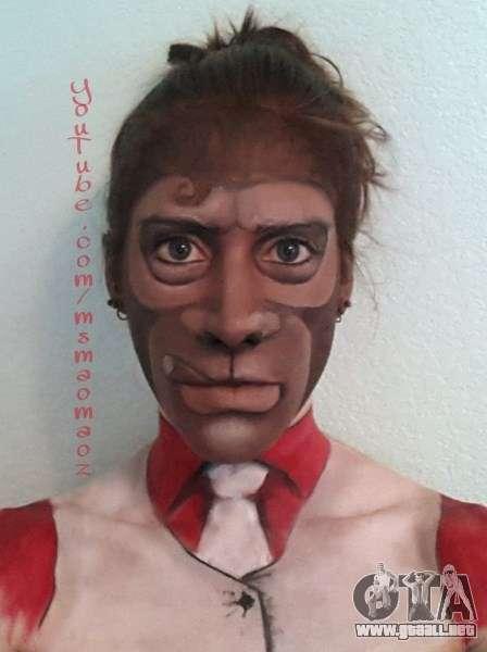 mono máscara de MaoMaoz