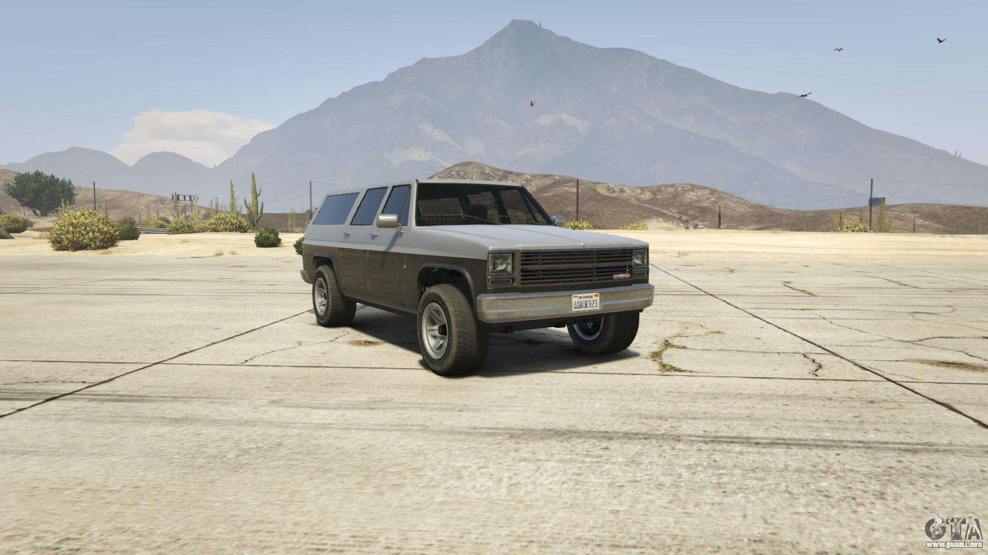 GTA 5 Declasse Rancher XL - vista frontal