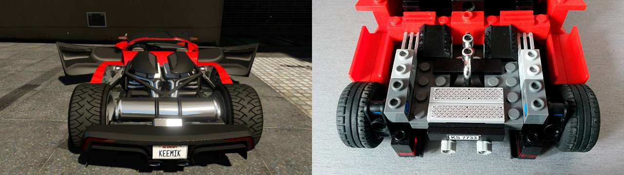 Lego Grotti Turismo R - motor