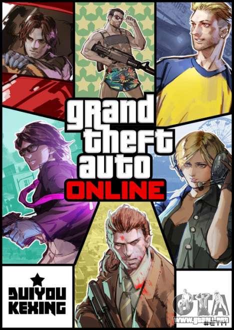 GTA Online Caracteres