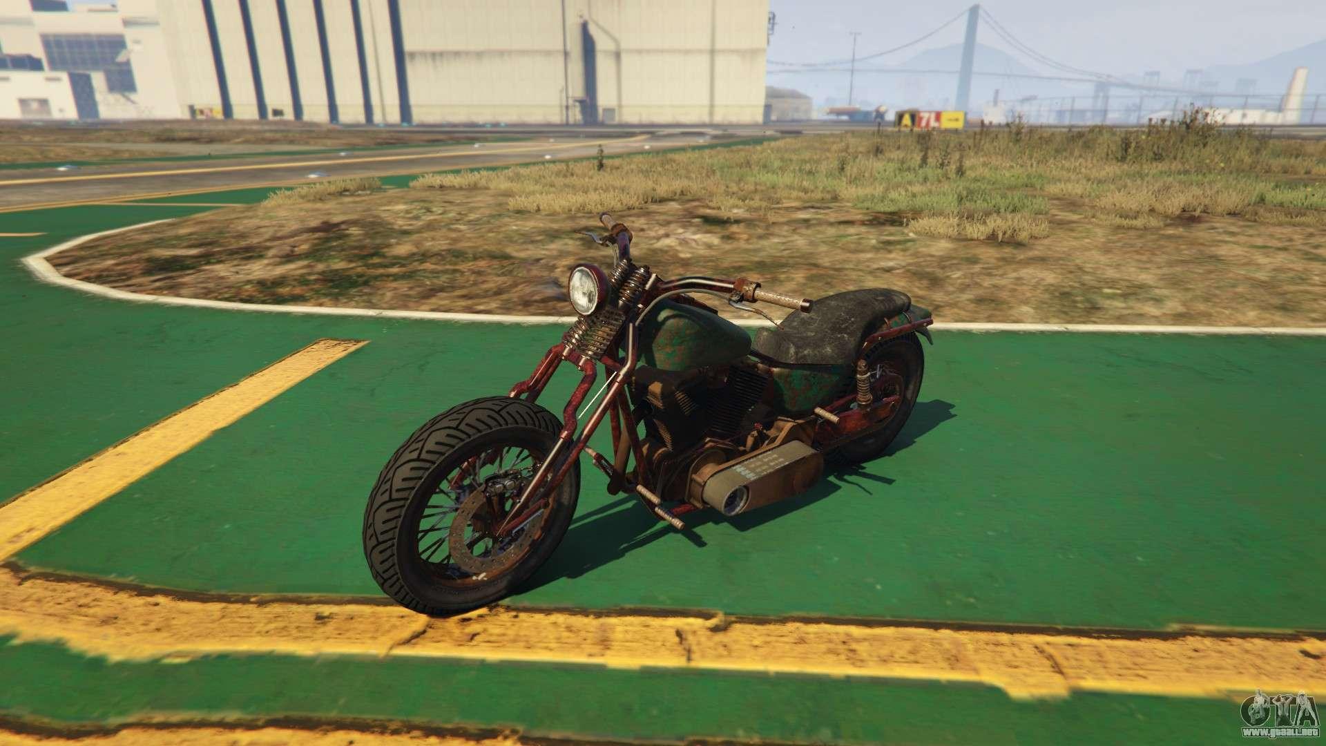 Nueva motocicleta Western Rat Bike de GTA Online
