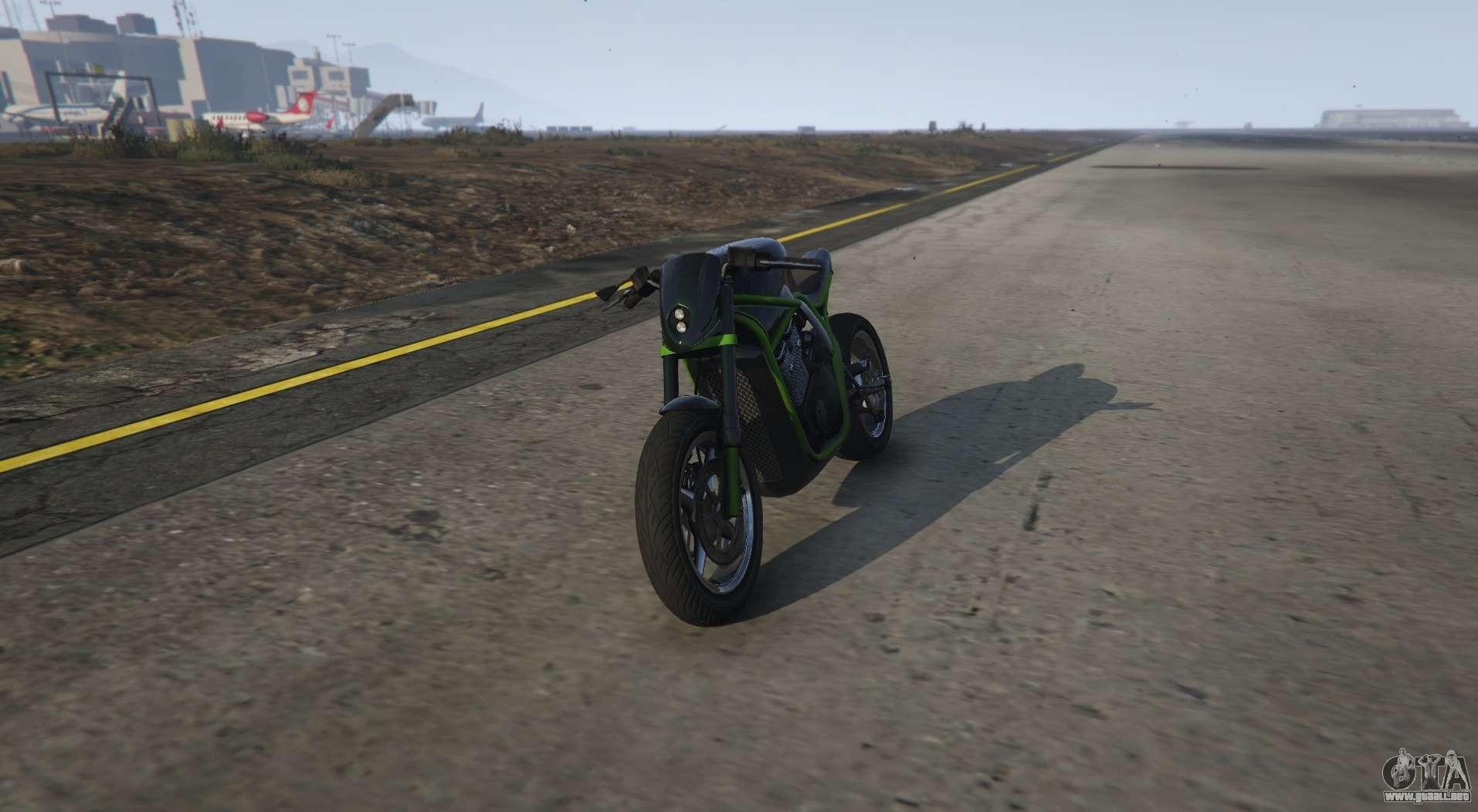 Inusual de la motocicleta de GTA 5 Shitzu Defiler