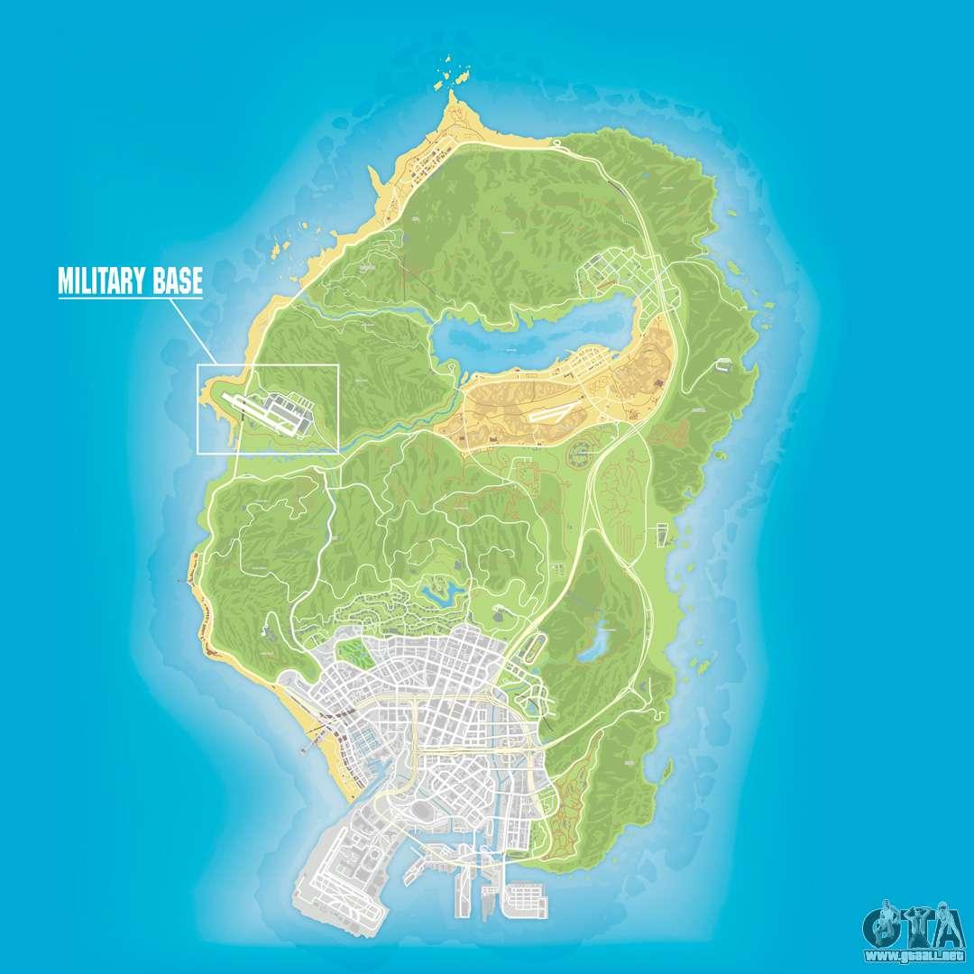 Mapas Militares En Gta 5
