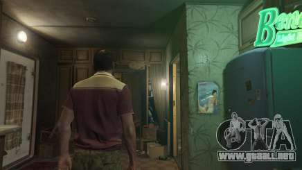 Desnudo personaje de GTA 5