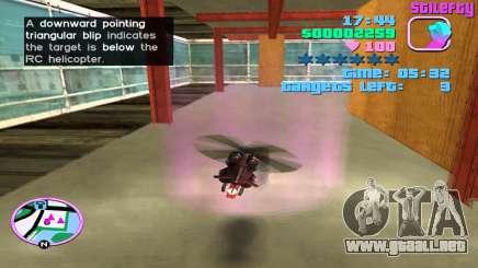 RC Hubschrauber en GTA Vice City