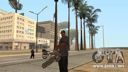 La minigun en el GTA San Andreas