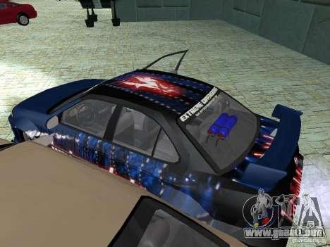Nissan Sentra para vista lateral GTA San Andreas