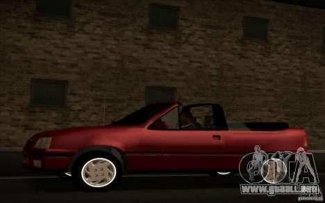 Chevrolet Kadett GSI Cabrio para GTA San Andreas left