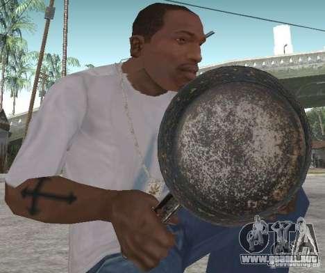 Sartén para GTA San Andreas segunda pantalla