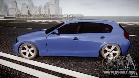 BMW 118i para GTA 4 left