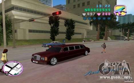 Rolls Royce Silver Seraph para GTA Vice City visión correcta