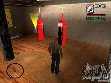 Punshbag para GTA San Andreas tercera pantalla