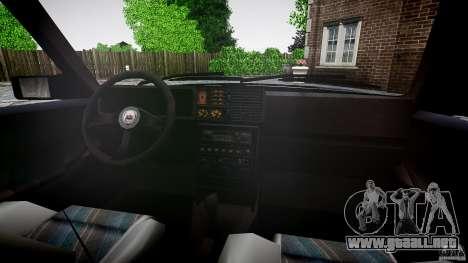 Lancia Delta HF 4WD para GTA 4 vista desde abajo
