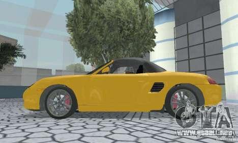 Porsche Boxster para la visión correcta GTA San Andreas
