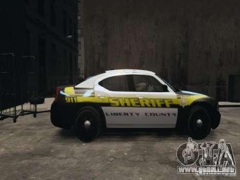 Dodge Charger Slicktop 2010 para GTA 4 left