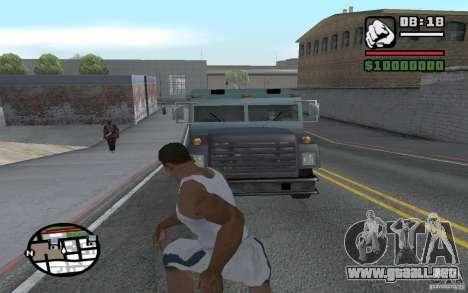 Tirando palas para GTA San Andreas tercera pantalla