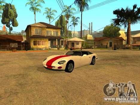 Desovar coches para GTA San Andreas sucesivamente de pantalla