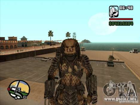 Predator Predator para GTA San Andreas